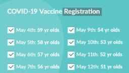 50-59 vaccine schedule